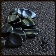 Lefty Tones - Black Horn - 1 Guitar Pick | Timber Tones